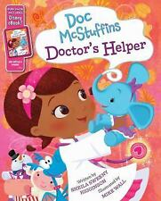 BRAND NEW HARDCOVER Doc Mcstuffins Doctor's Helper - First Edition