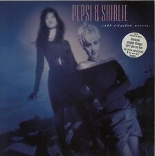 PEPSI & SHIRLIE All Right Now 1987 UK vinyl LP + POSTER  Excellent Condition