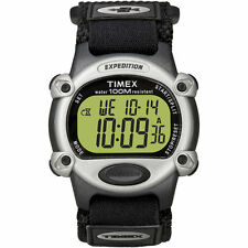 "Timex T48061, Men's ""Expedition"" Chronograph Indiglo Watch, Alarm, T480619J"