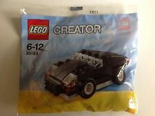 New Lego Creator Black Sports Car Set 30183 Factory Sealed Bagged Set