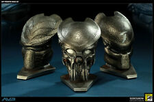 PREDATOR MASK SET 2011 SDCC EXCLUSIVE STATUE SIDESHOW 1/4 SCALE