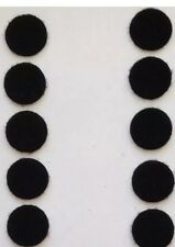"""Sticky Back - 1/5"""" Coins, 10 Sets - Black, New, Free Shipping"""