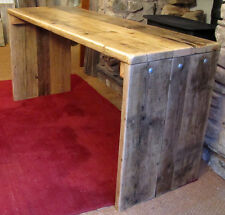 Reclaimed wood desk, built to your specifications