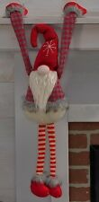Christmas Shelf Sitter Winter Gnome NEW Fireplace Mantel, Bookcase Office Ledge