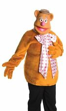 ADULTS UNISEX TV CHARACTERS MUPPETS FOZZIE BEAR FANCY DRESS COSTUME - STD