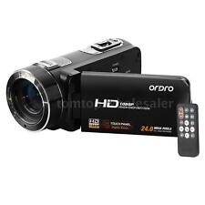 ORDRO HDV-Z8 1080P Digital Video Camera Camcorder 16×Zoom LCD Touch 24MP US S5J7