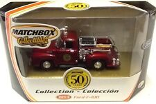 50th ANNIVERSARY MATCHBOX COLLECTIBLES 96998 1953 FORD F-100 FIRE TRUCK MINT BOX