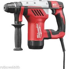 "120V Milwaukee 1-1/8"" SDS-PLUS Electric Hammer Drill with Case"