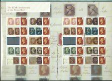 GREAT BRITAIN 2016 175th ANNIVERSARY OF THE PENNY RED SMILERS SHEET UNMOUNTED MT