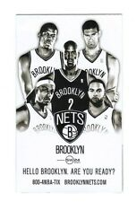 2013-14 BROOKLYN NETS POCKET SCHEDULE