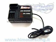 02071 RICEVENTE AM 27MHz 2 CANALI + 1 CANALE BATTERIA 1/10 1/8 RECEIVER HIMOTO