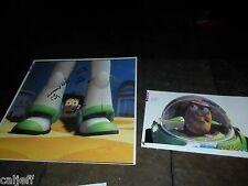 2 LOT 1996 DISNEY TOY STORY PRODUCTION PROOF PHOTO BUZZ & WOODY BURGER KING TOYS