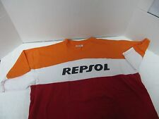 HONDA REPSOL MOTORCROSS RACING  MULTI COLOR SHORT SLEEVE T-SHIRT LARGE NOS