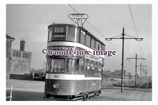 gw0079 - Leeds Tram no 196 to Halton - photograph