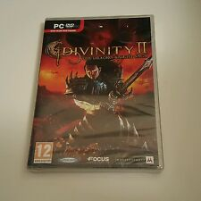DIVINITY 2 THE DRAGON KNIGHT SAGA PC DVD UK NEW FACTORY SEALED