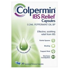 COLPERMIN IBS RELIEF PEPPERMINT OIL - 20 CAPSULES *