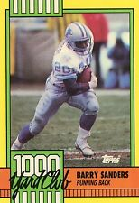 1990 TOPPS 1000 YARD CLUB #3 BARRY SANDERS - DETROIT LIONS - FREE SHIPPING
