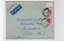 HONG KONG: 1948 AIR MAIL COVER TO LONDON (C22554)