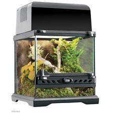 Exo Terra Nano Glass Terrarium Reptile Habitat - 8 x 8 x 8 Inch