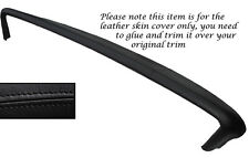 BLACK STITCH TOP DASH DASHBOARD LEATHER SKIN COVER FITS PONTIAC BONNEVILLE 1967