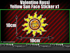 Valentino Rossi Yellow Sun Sticker X1 Moto GP The Doctor Fumi 46 vale racing