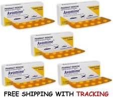 AVOMINE 25mg PROMETHAZINE 50 TABLETS MOTION SICKNESS TRAVEL NAUSEA VOMITIING