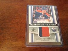 13-14 2013-14 SP GAME USED RYAN NUGENT-HOPKINS AUTHENTIC FABRICS JERSEY OILER