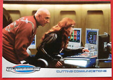 Thunderbirds (le film 2004) - carte #41 - coupe de communications, cartes inc 2004