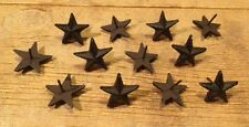 """Texas Star Nails Small 2"""" Western 2"""" wide (Set of 12) Crafts Decor 0170S-02111"""