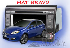 Autoradio Fiat Bravo 2007-2014 GPS NAVI DVD supporta Blue&Me iPhone 5 e Android