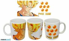 New Goku SSJ Dragon Ball Z DBZ coffee mug 11oz Your Name Gift