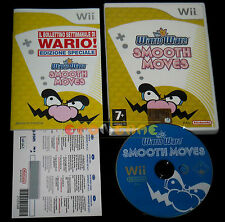 WARIO WARE SMOOTH MOVES Wii Versione Italiana Vip Point New ○○○○○ COMPLETO