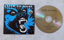 "CD AUDIO INT/ FAITH NO MORE ""KING FOR A DAY"" CD SAMPLER PROMO  CARD SLEEVE"