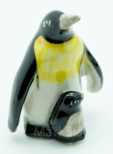 Figurine Animal Miniature Ceramic Statue 2 Penguin Bird - SBO026