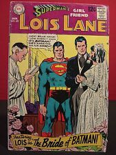 DC Comics Superman's Girlfriend Lois Lane #89 Jan 1969