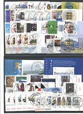 Bund Jahrgang 2002 gestempelt Eckrand ETSST Berlin Vollstempel auf Ecke 4 used