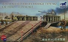 Bronco 1/35 WWII Allied Bailey Bridge Type M2 Military 35012 New