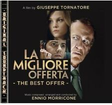 La Migliore Offerta (The Best Offer) - Ennio Morricone (2013, CD NIEUW)