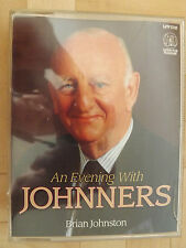 Brian Johnston An Evening with Johnners 2 Cassette Audio Book GENUINE EXCELLENT
