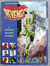 Marvel Graphic Novel 17 2nd Print Revenge Living Monolith 1st Apocalypse WTC