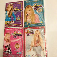Hannah Montana - Complete Seasons 1,2,3,4 [DVD] UK RELEASE REGION 2 - VERY RARE