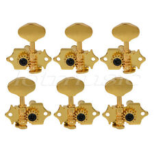3x3 Gold Guitar Tuning Peg Tuner Machine Head For Grover sta-tite Replacement