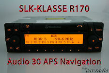 Mercedes Navigationssystem SLK-Klasse R170 W170 Audio 30 APS Original Navi Radio