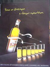 publicité  de presse  -  SUZE   en 2000  ref. 36031