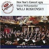 New Year's Concert 1979, Willi Boskovsky, Wiener Philharm, Very Good Condition