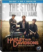 Harley And The Davidsons - 4 DISC SET (2016, REGION A Blu-ray New)