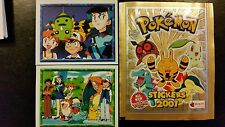 POKEMON 2001 COMPLETE SET OF STICKERS X126