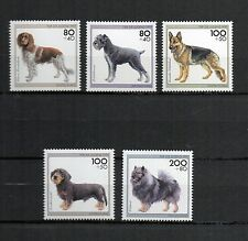 BRD 1995 postfrisch Nr. 1797 - 1801 ** Hunde Tiere Animals Dogs