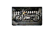 1964 cl72 Bike Motorcycle A4 Retro Metal Sign Aluminium