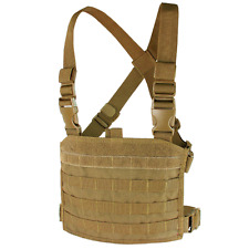 Condor MCR3 COYOTE Tactical MOLLE Compact Modular Panel Pocket Chest Rig Vest